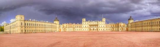 Gatchina Palace panorama Royalty Free Stock Photos