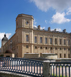 Gatchina Palace. The right wing of the palace. Royalty Free Stock Photo