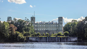 Gatchina Palace stock photography