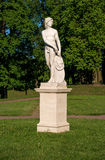 Gatchina Palace. Sculpture in the Dutch garden. Royalty Free Stock Photography