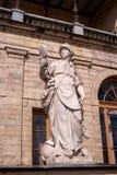 Gatchina Palace. Sculpture at the front door. Royalty Free Stock Image