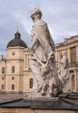 Gatchina Palace. Sculpture at the front door. Royalty Free Stock Photos