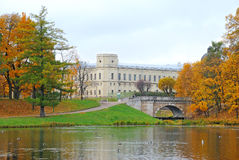Gatchina Palace, suburb St. Petersburg, Russia Stock Photo