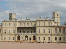 Gatchina palace in the suburb of St. Petersburg Stock Photography