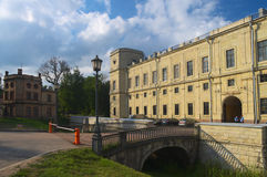 Gatchina palace Stock Image