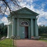 Gatchina park. Venus Hall, built on the shore of White Lake. Royalty Free Stock Image