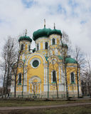 Gatchina Pavlovsk大教堂在Gatchina 库存图片