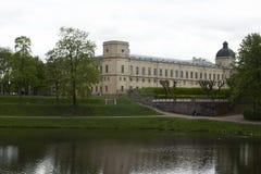 Gatchina, región de Leningrad, Rusia - 3 de junio de 2017 Imágenes de archivo libres de regalías