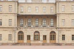 Gatchina, región de Leningrad, Rusia - 03, junio de 2017 Palacio de Gatchina Imagenes de archivo
