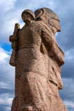 Gatchina, Russia - April 16, 2016: Memorial of the Great Patriotic War. Royalty Free Stock Photos