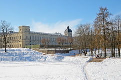 Gatchina Palace and park Royalty Free Stock Photos