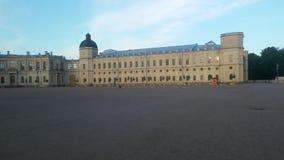 Gatchina-Schloss lizenzfreie stockbilder