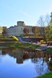 Gatchina slott petersburg russia st Royaltyfri Bild
