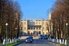Gatchina slott, St Petersburg, Ryssland Arkivbilder