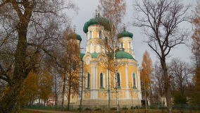 Gatchinapavlovsk kathedraal in Gatchina Royalty-vrije Stock Afbeeldingen