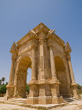 The gate. Gate in antic Laptis Magna in Lybia Royalty Free Stock Photos