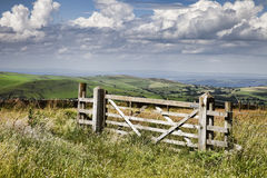 Gate royalty free stock photography