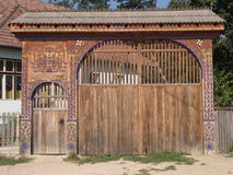 Gate Royalty Free Stock Photo