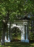 Gate. To the old cemetery Royalty Free Stock Photography