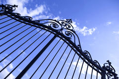 Gate royalty free stock images