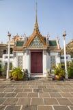 The gate. In Wat Phra Si Rattana Satsadaram royalty free stock photography
