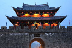 Gate. Old daLi city gate,YunNan,china Stock Photo