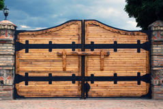 Gate Royalty Free Stock Image