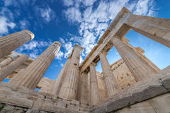 Gate of Acropolis Royalty Free Stock Image