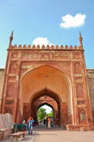 Gate in Agra fort, India Stock Photos