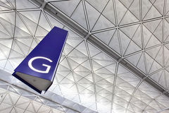 Gate at airport Stock Photography