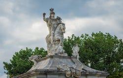 Gate of Alba Iulia Royalty Free Stock Photography