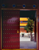 the Gate of All Emperor Temple royalty free stock photos