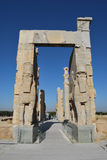 Gate of all nations, Persepolis Royalty Free Stock Images