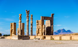 The Gate of All Nations in Persepolis, Iran Royalty Free Stock Image