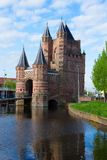 The Gate of Amsterdam, Haarlem, Holland Royalty Free Stock Photo