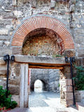 Gate of Ancient Amasra city royalty free stock photography
