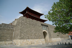 The gate in ancient China Royalty Free Stock Photography