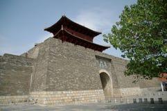 The gate in ancient China. Gan zhou yongjin door Royalty Free Stock Photography