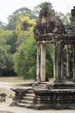 Gate of Angkor Wat. Cambodia Stock Photos