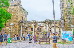 The gate of Antalya Stock Images