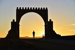 Gate in Antiatlas Royalty Free Stock Photography