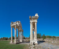 Gate in Aphrodisias Royalty Free Stock Photos