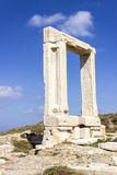 Gate of Apollon Temple Stock Photography