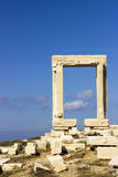 Gate of Apollon Temple Royalty Free Stock Photography