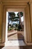 Gate of arcade Villa Giulia, Rome Stock Images