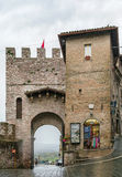 Gate in Assisi, Italy Royalty Free Stock Images