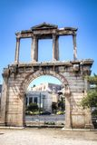 The Gate of Athens, Greece. The Athens gate in Athens, the capital of Greece Stock Photo