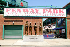 Gate B entrance to Fenway Park