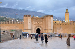 Gate Bab Chorfa in Fes, Morocco Royalty Free Stock Images