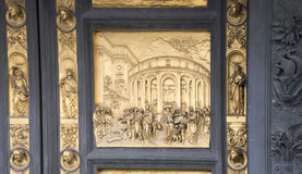 Gate of the Baptistery of San Giovanni. Florence Royalty Free Stock Photos
